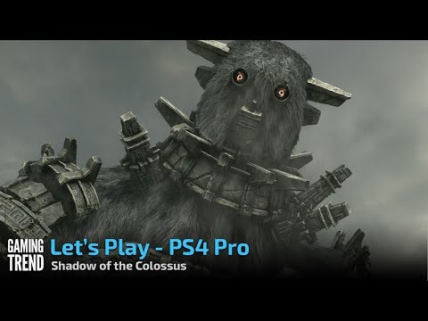 Shadow of the Colossus on PS4 Pro - First 5 minutes