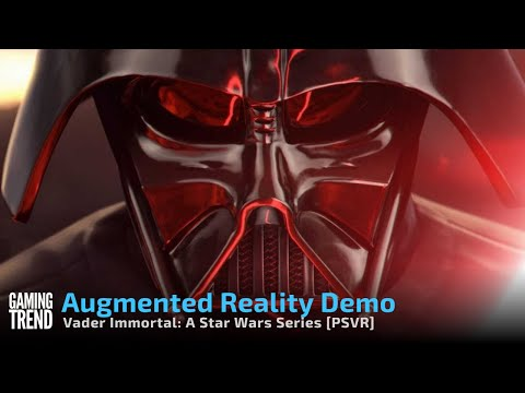 Vader Immortal Augmented Reality Demo on PSVR [Gaming Trend]