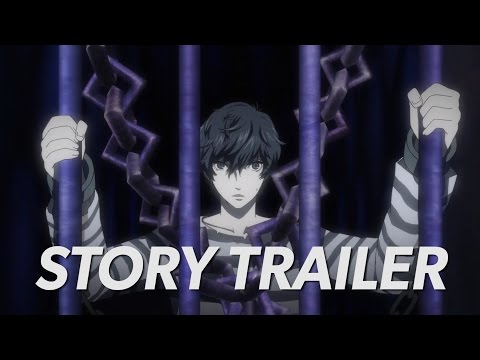 Persona 5: The Phantom Thieves Go to Work in the Story Trailer!