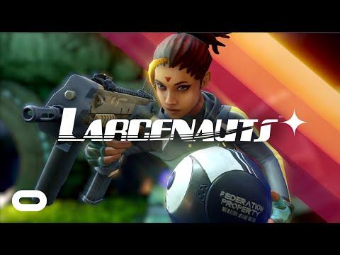 Larcenauts Reveal Trailer   Oculus Quest + Rift Platforms