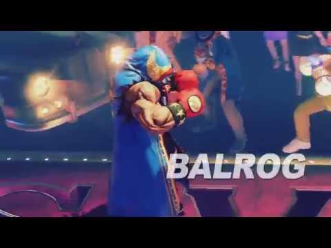 SFV: Balrog Reveal Trailer
