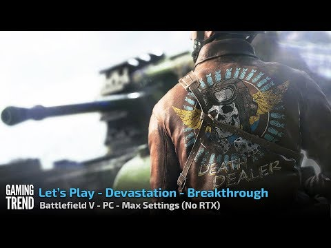 Battlefield V - Devastation - Breakthrough - PC - [Gaming Trend]