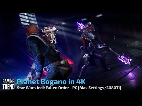 Star Wars Jedi Fallen Order - Planet Bogano in 4K - PC [Gaming Trend]