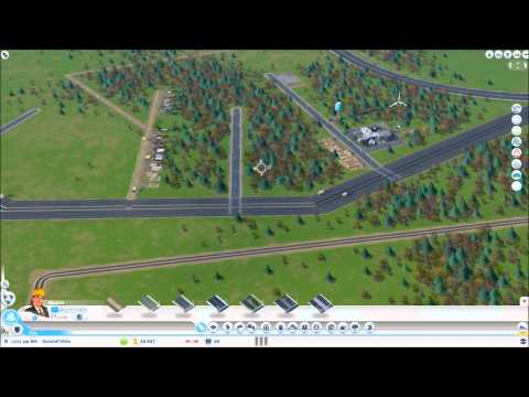 SimCity 5 - Edit freeway anywhere even outside boundary, still saves and syncs!