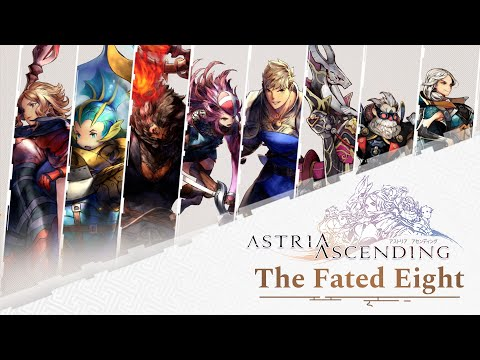 Astria Ascending - The Fated Eight - Release date Trailer