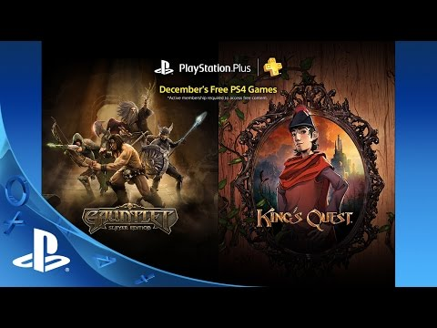PlayStation Plus Free PS4 Games Lineup December 2015
