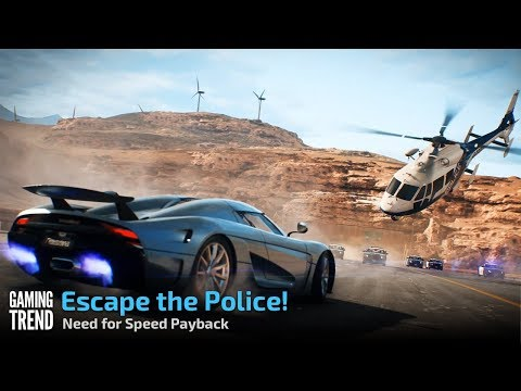 Need for Speed Payback - Escape the Police [Gaming Trend]