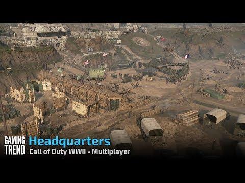CODWWII Multiplayer – Headquarters