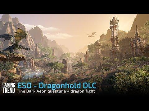 ESO Dragonhold DLC - The Dark Aeon quest & dragon battle [Gaming Trend]