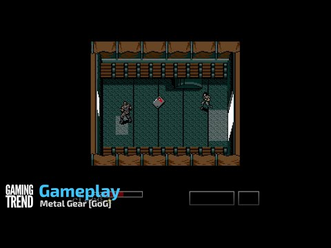 Metal Gear Gameplay - GoG [Gaming Trend]