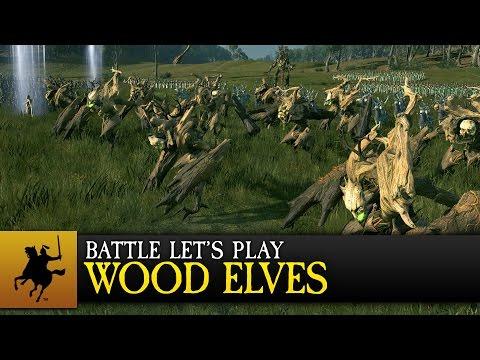Total War: WARHAMMER - Realm of the Wood Elves - Battle Let's Play (ESRB)