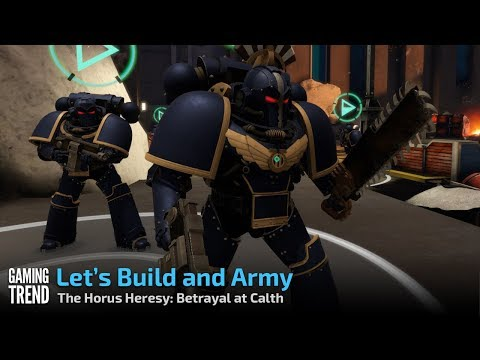 The Horus Heresy Betrayal at Calth - Army Building and Equipping [Gaming Trend]