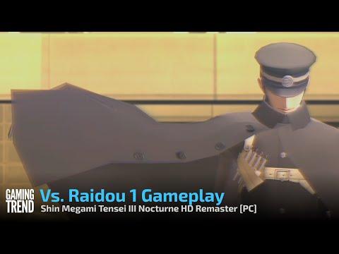 Shin Megami Tensei III Nocturne HD Remaster Vs Raidou Gameplay - PC [Gaming Trend]