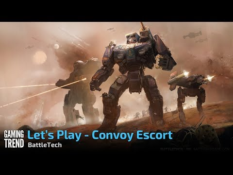 BattleTech - (Spoiler Free) - Convoy Escort [Gaming Trend]