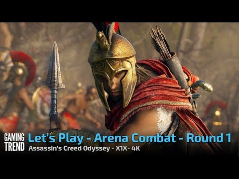 Assassin's Creed Odyssey - Arena Round 1 - X1X 4K [Gaming Trend]
