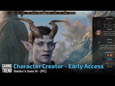 Baldur's Gate III - Early Access Character Creator - PC [Gaming Trend]
