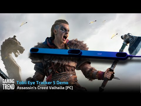 Assassin's Creed Valhalla with Tobii Eye Tracker 5 [Gaming Trend]