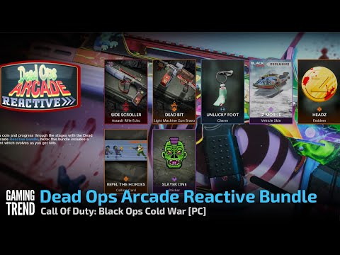 Dead Ops Arcade Reactive Bundle - Call Of Duty: Black Ops Cold War [PC] - [Gaming Trend]