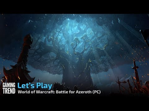 Let's Play! World of Warcraft: Battle for Azeroth - Waycrest Manor highlight