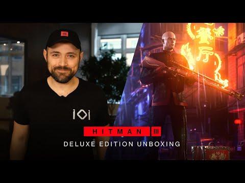 HITMAN 3 - Deluxe Edition Unboxing