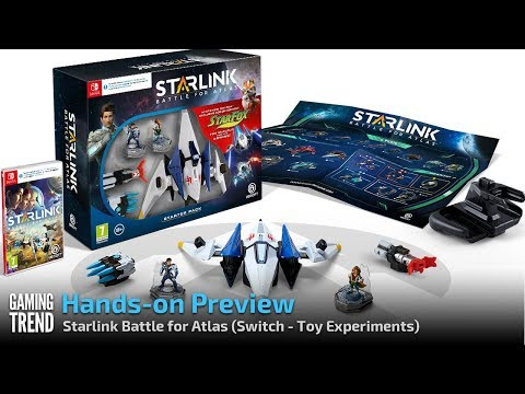 Starlink Battle for Atlas - Let's Play Preview - Fox McCloud - Toy Experiments [Gaming Trend]