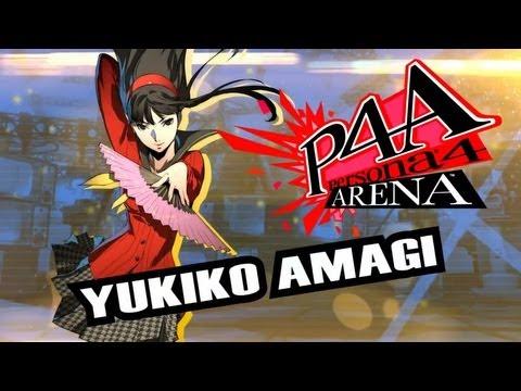Persona 4 Arena Moves Video: Yukiko Amagi