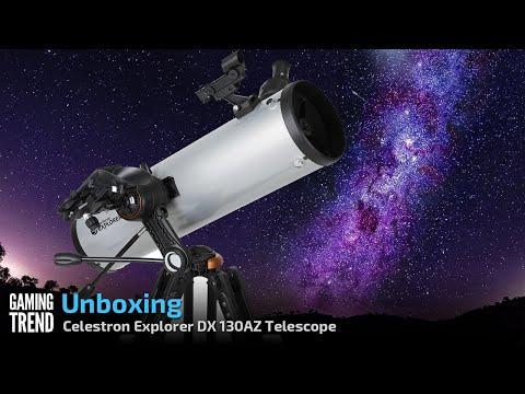 Celestron Explorer DX 130AZ - Unboxing [Gaming Trend]