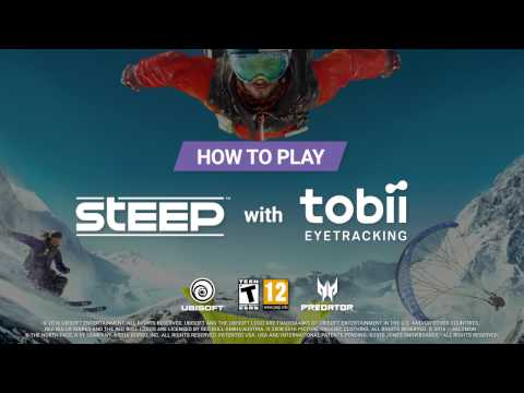 Tobii x Predator - How To Play Steep with Tobii Eye Tracking