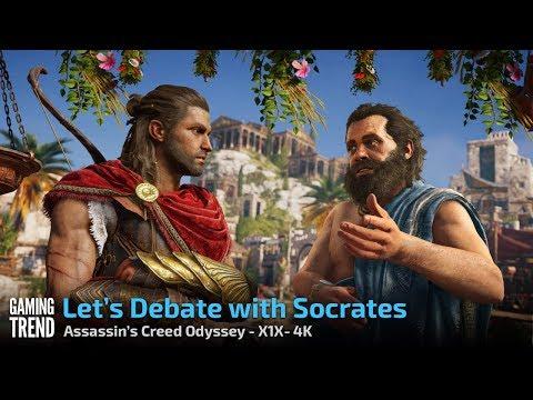 Assassin's Creed Odyssey - Debating Sokrates - X1X 4K [Gaming Trend]
