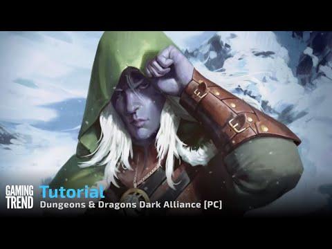 Dungeons & Dragons Dark Alliance Tutorial - PC [Gaming Trend]