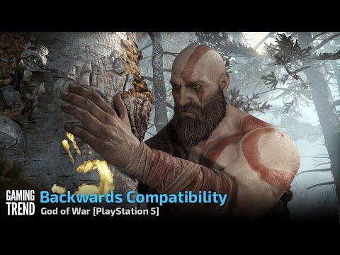 God of War - Backwards Compatibility - PlayStation 5 [Gaming Trend]