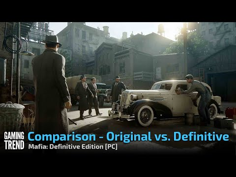 Mafia: Definitive Edition and Mafia 2002 - side by side video [Gaming Trend]