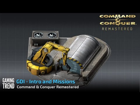 Command & Conquer Remastered - GDI Intro and Missions in 4K [Gaming Trend]