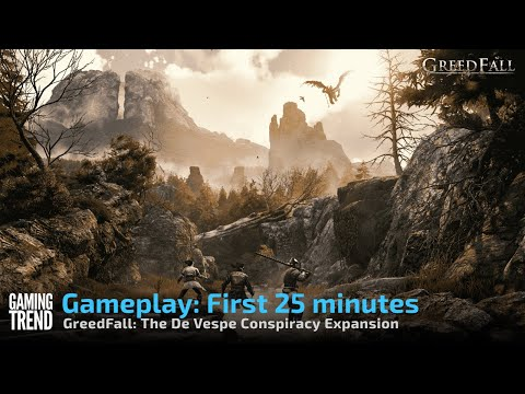 Gameplay: First 25 minutes - GreedFall: The De Vespe Conspiracy [PS5] - [Gaming Trend]