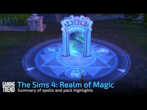 The Sims 4: Realm of Magic quick overview [Gaming Trend]