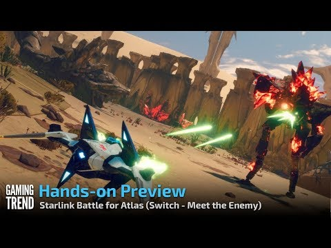 Starlink Battle for Atlas - Let's Play Preview - Fox McCloud - Meet the Enemy [Gaming Trend]