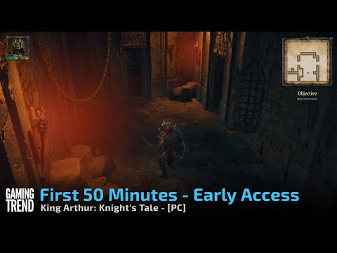 King Arthur Knight's Tale - Early Access Gameplay - First 40 minutes on PC [Gaming Trend]