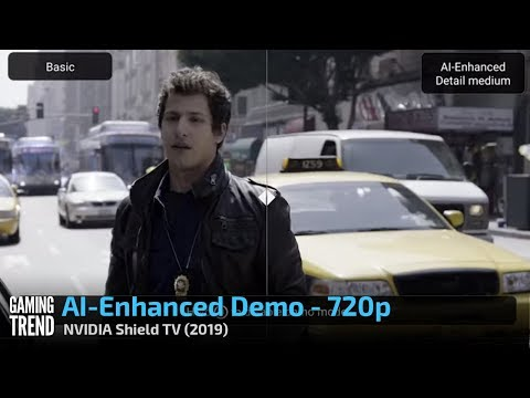 NVIDIA Shield - AI-Enhanced Demo - 720p [Gaming Trend]