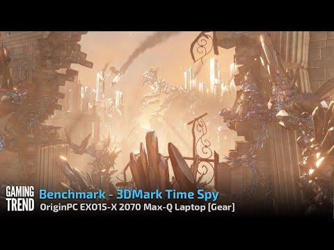OriginPC EON15-X 2070 Max-Q AMD Laptop - Benchmark - 3DMark Time Spy [Gaming Trend]