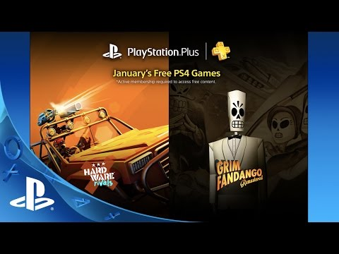 PlayStation Plus Free PS4 Games Lineup January 2016