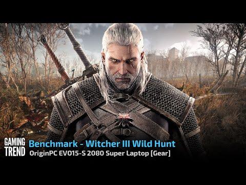 OriginPC EVO-15S 2080 Super Laptop - The Witcher III Wild Hunt Benchmark [Gaming Trend]