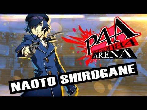 Persona 4 Arena Moves Video: Naoto Shirogane