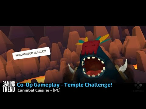 Cannibal Cuisine - Co-Op Gameplay - Temple Challenge - PC [Gaming Trend]