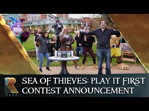 Sea of Thieves: Play It First Contest Announcement