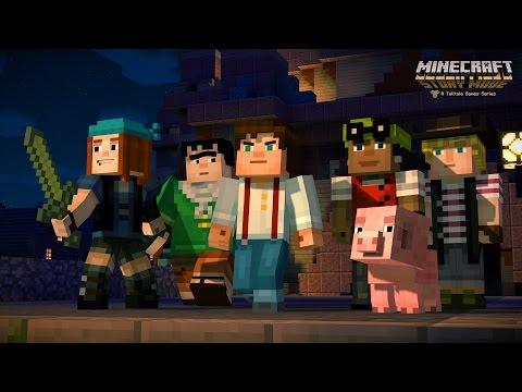 Minecraft: Story Mode [Minecon 2015 Trailer]