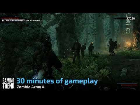 30 Minutes of Zombie Army 4 Gameplay