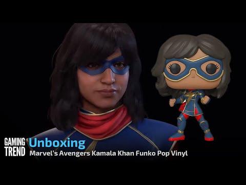 Marvel's Avengers Game Kamala Khan Funko Pop Vinyl Unboxing [Gaming Trend]