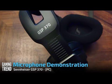 Sennheiser GSP 370 Microphone Demonstration - PC [Gaming Trend]