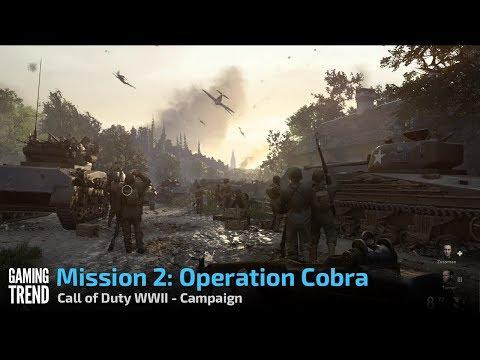 CODWWII Campaign – Mission 2 (Operation Cobra)