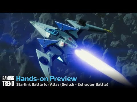 Starlink Battle for Atlas - Let's Play Preview - Fox McCloud - Extractor Battle [Gaming Trend]